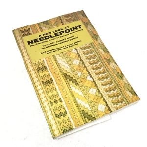 Vintage Needlepoint Learning Paperback Book GUC